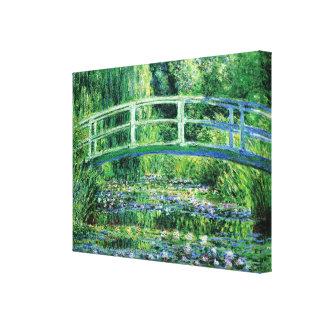 Water Lilies and Japanese Bridge, Claude Monet Canvas Prints