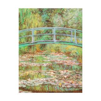 Water Lilies and Japanese Bridge Monet Fine Art Canvas Prints