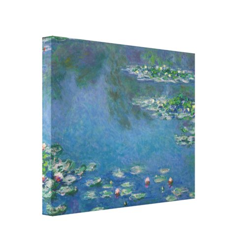 Water Lilies by Claude Monet Gallery Wrap Canvas