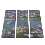 Water Lilies by Claude Monet Stretched Canvas Prints
