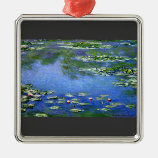Water Lilies by Claude Monet Christmas Ornament