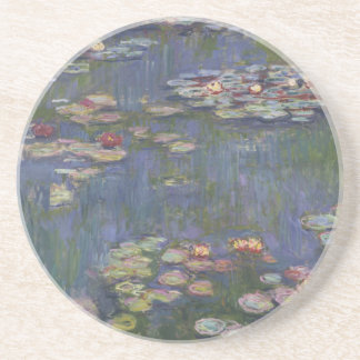 Water Lilies by Claude Monet Beverage Coaster