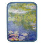 Water Lilies by Claude Monet iPad Sleeve