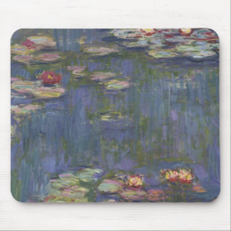 Water Lilies by Claude Monet Mousepads