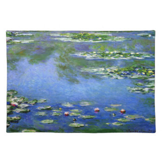 Water Lilies by Claude Monet Placemat