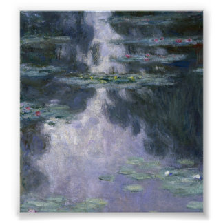 Water Lilies by Claude Monet. Poster