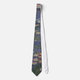Water Lilies by Claude Monet Tie