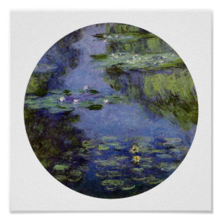 Water-Lilies by Monet Print
