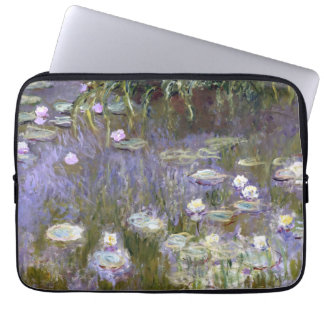 Water Lilies (c.1922) by Claude Monet Computer Sleeve