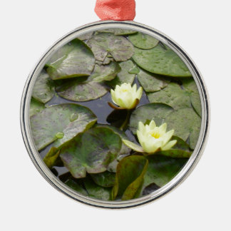 Water Lilies Christmas Ornament