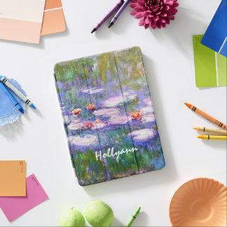 Water Lilies Claude Monet Fine Art iPad Air Cover