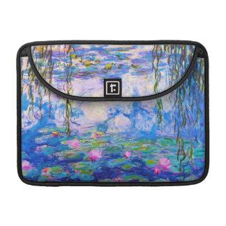 Water Lilies Claude Monet Sleeve For MacBook Pro