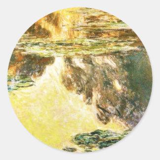 Water Lilies Claude Monet Sticker