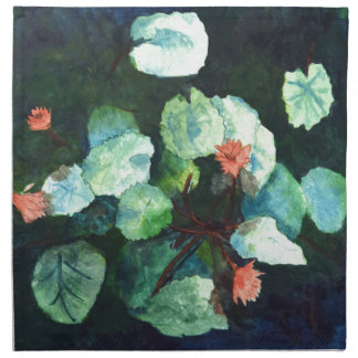 Water Lilies Collection - Napkin For Your Home