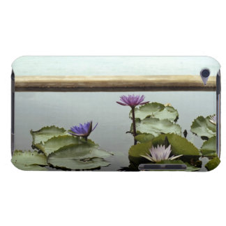 Water lilies in pond by ocean barely there iPod cases
