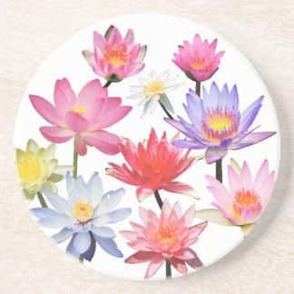 Water Lilies & Lotus Coaster