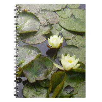Water Lilies Notebook