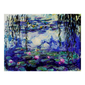 Water Lilies (Nymphéas) Poster