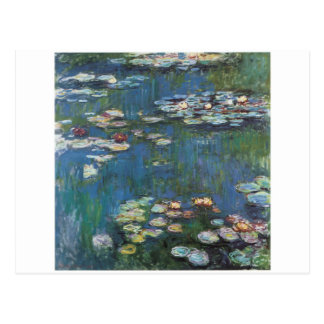 Water lilies,one of many painting of claude Monet Postcard