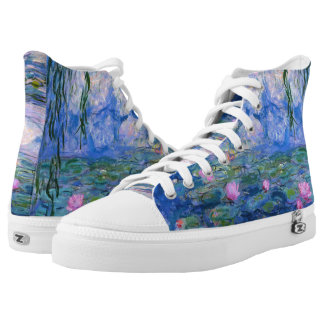 Water Lilies Printed Shoes