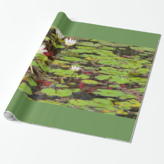 Water Lilies Wrapping Paper