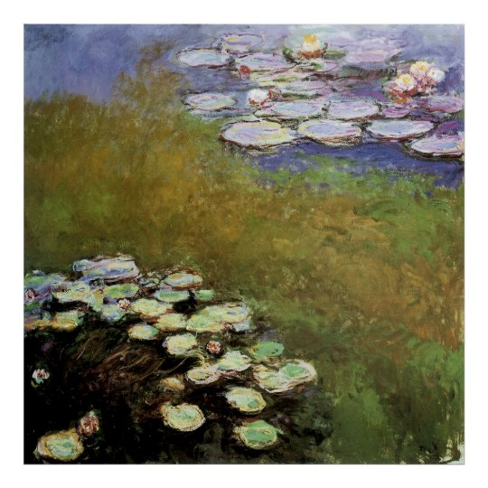 Water-Lillies: 1914-17 by Monet Poster