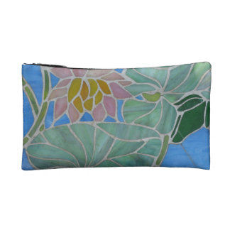 Water Lillies Makeup Bag