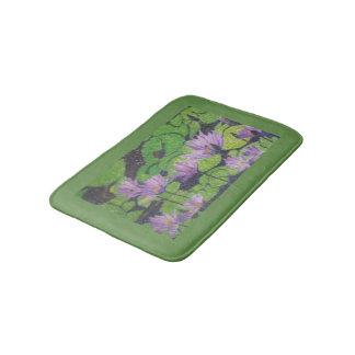 """Water Lillies"" - Small Bath Mat"
