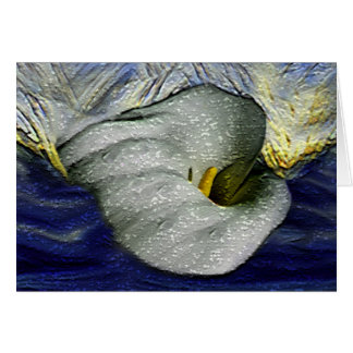 Water Lilly 7 Greeting Card