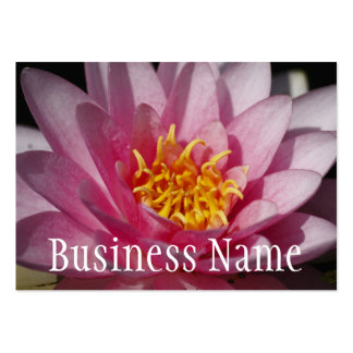 Water Lilly Flower Business Card