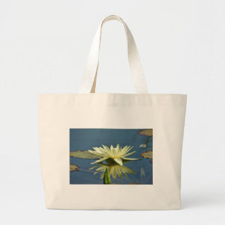 Water Lilly Jumbo Tote Bag