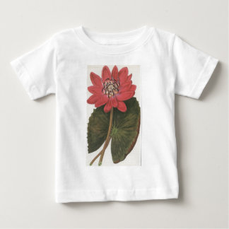 Water lilly Nymphaea Rubea Baby T-Shirt