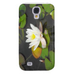 Water Lily and Leaves with coin Galaxy S4 Case