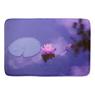 Water Lily at Dawn Bath Mat