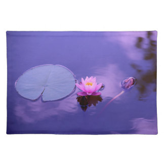 Water Lily at Dawn Placemat