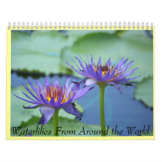 water lily calender wall calendars
