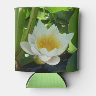 Water Lily Can Cooler