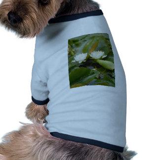 Water Lily Pet Tee Shirt