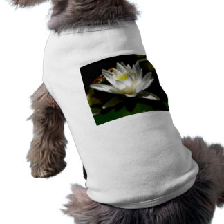 Water Lily Dog Tee Shirt