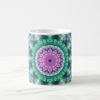 Water Lily kaleidoscope Coffee Mug