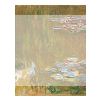 Water Lily Pond by Claude Monet 21.5 Cm X 28 Cm Flyer