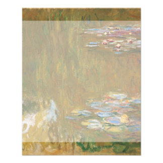 Water Lily Pond by Claude Monet Full Color Flyer