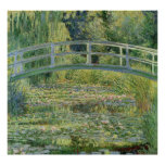 Water Lily Pond - Claude Monet Posters
