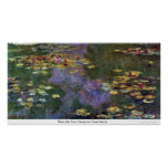Water Lily Pond, Giverny by Claude Monet Poster