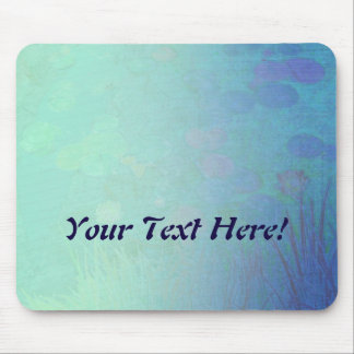 Water Lily Pond Mouse Pad