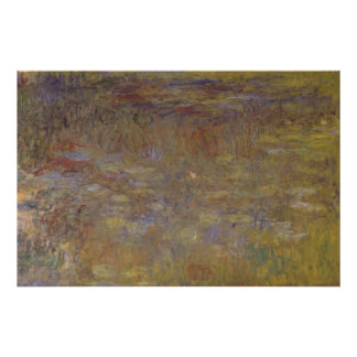 Water-Lily Pond Poster