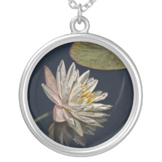 Water Lily Reflection Necklace