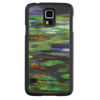 Water Lily Somnolence 2010 Carved Maple Galaxy S5 Case