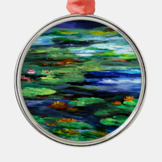 Water Lily Somnolence 2010 Christmas Ornament