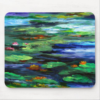 Water Lily Somnolence 2010 Mouse Mat